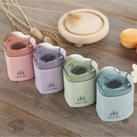Wholesale Toothpicks Automatic - Wheat Straw Automatic Toothpick Holder Container European Style Home Decor Heart Shape Toothpick Storage Box Toothpick Dispenser YYA1179