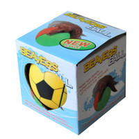 Wholesale funny water sports - Novelty Games Automatic Rolling In Water Funny Nutria Beaver Ball Plastic Intellectual Development Parent Child Interaction Toys 6bl W