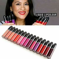 Wholesale name brand makeup free shipping for sale - Group buy Hot Brand Makeup Retro Matte Liquid Lip Colour WaterProof Glaze Lipgloss Colors With English Name DHL
