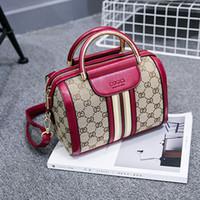 benzersiz kadın poşetleri toptan satış-Omuz Çantaları Çanta Tasarımcısı Moda Kadınlar Boston Lüks Çanta Bayanlar Crossbody Çanta Bez Çantalar PU Deri Manuel Benzersiz Popüler Çantalar