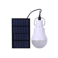 Wholesale solar energy saving bulbs for sale - Hot Energy Saving Lamp S E27 Useful Energy Conservation Solar Bulb CE FCC Charged Bulb LED Light Outdoor Home