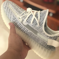 Wholesale frozen low shoes for sale - 2018 Static V2 Shoes Womens Mens Running Shoes for Sport Sneakers Butter Sesame Blue Tint Yellow Frozen Zebra Designer Sport Casual Shoe