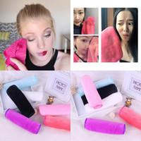 removedores de maquiagem venda por atacado-Microfibra reutilizável mulheres pano facial toalha de rosto de maquiagem para removedor de maquiagem esporte toalha de limpeza toalha de lavagem