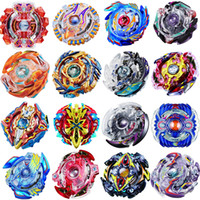 Wholesale New Beyblade Metal Fusion Toys - 18 style New Spinning Top Beyblade BURST With Launcher And Original Box Metal Plastic Fusion 4D Gift Funny Toys For Children