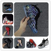 Wholesale basketball galaxy shoe for sale - Group buy Penny hardaway abalone Alternate Galaxy Tanjin Doernbechers Rust Pink Basketball Shoes Sports Shoes Mens Sneaker with box free shippment