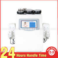 Wholesale radios for sale - Hot Sale 6 In 1 Ultrasonic Cavitation Vacuum Radio Frequency Lipo Laser Slimming Machine for Spa