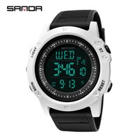 e61442f3415 Sports Watches Men Hot Brand SANDA Army Watch Men Outdoor Waterproof  Electronic LED Digital Wrist watch Male Clock