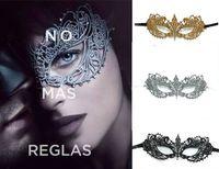 tatil maskeli maskeleri toptan satış-Yeni Altın Gümüş Simülasyon Elmas Masquerade Parti Tatil Ürünleri Cadılar Bayramı Kadınlar Maske Toptan 10 adet / grup