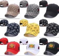 ingrosso cappelli in rete hip hop-Berretto da baseball Moda Uomo Donna Outdoor Brand Designer Sport G Maglie Caps Hip Hop osso regolabile Cappelli modello Casquette Truck Hat