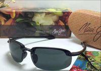 Wholesale New Super Lens - New arrived maui jim 407 sunglasses Polarized lens sun glasses men women mj sports r407 super rimless Aviator driving with original case
