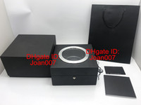 Wholesale modern h - Luxury Watches Boxes Luxury Watch Box Black Watches Boxes Transparent H Original Watch Box for LSL9013 Spot Supply High Quality Box