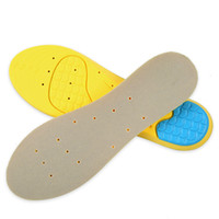 Wholesale shoes air pad resale online - Sports shoe pad men women breathable shock absorbing insoles thickening Winter Warmth full pad sweat absorbing deodorizing air cushions