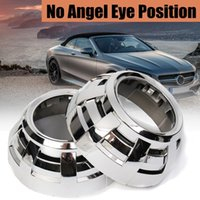 Wholesale hid angel for sale - Group buy 3 Car HID Projector Shrouds Angel Eyes Halos Headlight Lens Decorative Cover Lighting System