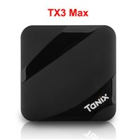 Wholesale android tv box play store online - Tanix TX3 Max BT4 GB GB Android TV BOX Amlogic S905W Surppot GHz WiFi Google Play Store