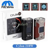 Wholesale Original Powers - 100% Original Smoant Newest Cylon TC 218W Box Mod Dual 18650 Powered E Cigarette Vape Mod with 1.35inch TFT Screen