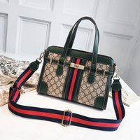 Wholesale china handbag brand resale online - China Brand Leather Handbags Purse Colorful Female Messenger Cross Body Purse Strap Leather Shoulder Letters Bags Sac Yige