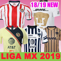 fb8b72da719 Club América Camiseta New season soccer Jerseys 2018 19 Mexico America  Football Shirt Chivas Monterrey Tigres Top quality Soccer jerseys
