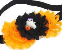 bijoux à tête d'oreille achat en gros de-Mode bande dessinée bébé accessoires halloween enfants bijoux tête fleur lapin oreilles trois pièces costume couvre-chef v 02