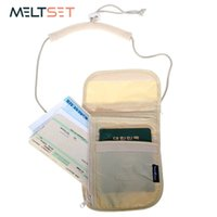 reisepass für reisen großhandel-Inhaber-Beutel-Reisepass-Organisator-Beutel mit Kordelzug-Geschäfts-Karten-Identifikations-Karten-Speicher-Tasche