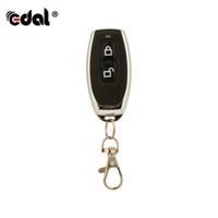 приемник удаленного приемника оптовых-EDAL 433Mhz RF Remote Control Learning Code EV1527 HCS301 For Gate Garage Door Controller Alarm Receiver Universal Remotes