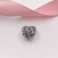 Wholesale Pandora Kiss - Authentic 925 Sterling Silver Beads Love And Kisses Charms Fits European Pandora Style Jewelry Bracelets & Necklace 796564