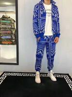 353b21f4290989 neue modetrends hosen männer großhandel-Mode Trend New Fashion Designer  Herren Medusa Reißverschluss Brief Jacke