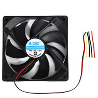 Wholesale Computer Ram Wholesale - 2017 1pcs 120mm 120x25mm 12V 4Pin DC Brushless PC Computer Case Cooling Fan 1800PRM JU22