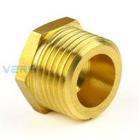 """Wholesale brass water nozzles - 10Pcs Brass Garden Water Irrigation 1\2"""" External Spray Nozzle Connector Garden Watering accessories Free Shipping"""