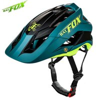 Wholesale yellow mountain helmet resale online - BATFOX Cycling Helmet Road Mountain Cycle Helmet Integrally molded MTB Bicycle Men Ultralight Bike Ciclismo