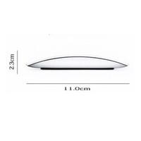 ingrosso magia della mela-Mouse USB o Bluetooth Ultra Thin 2.4G Mini Mouse senza fili Touch Magic Mouse Ricevitore per Apple e altri Con pacchetto di vendita al dettaglio
