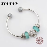 Zoudky New 100% 925 Sterling Silver Dazzling Fireworks Charm Original Womens Jewelry Suitable Charming Fashion Gift Beads