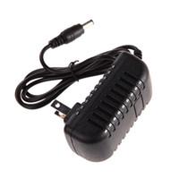 adaptör dönüştürücü 1a 12v toptan satış-1 Adet ABD Plug AC 100-240 V DC 12 V 1A AC / DC Güç Dönüştürücü Adaptör Şarj Güç Kaynağı 6 V 1A 1000mA Şarj
