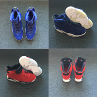 Wholesale Popular Culture - NEW styles Product SHOES 6 BLUE Men Basketball Shoes 6s red popular High Quality fashion Sneaker fashion style