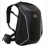 Wholesale shell computers for sale - New Arrivals OGIO Mach Knight Backpack Waterproof Motocross backpack computer bag carbon fiber Hard shell backpack