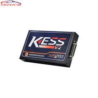 ingrosso programmatore automobilistico-Veloce spedizione gratuita Kess ECU Programmer Turning Tool V2 V2.13 Firmware V4.036 con gettoni illimitati Reseter 1 anno di garanzia Automotive