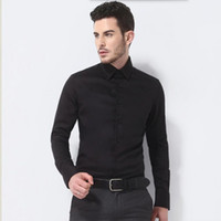 Wholesale man s formal occasion - The latest men shirt long shirt business formal occasions elegant gentleman party dinner ball tuxedo