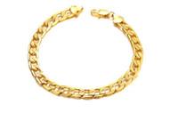 vergoldeten armbänder neues muster großhandel-Heiße Schmucksache-neue Art- und Weiseschmucksachen überzogenes Gold-Muster-Damenarmband mit 18 Gold