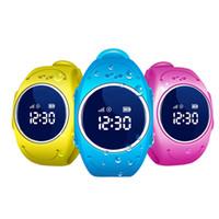 gsm gps reloj de pulsera al por mayor-2017 Reloj GPS Tracker para Niños Reloj GPS Seguro resistente al agua Q520S reloj inteligente SOS Call Finder Locator Tracker Anti perdida GSM