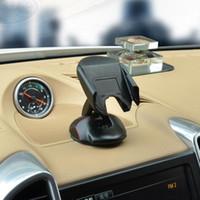 gps plegable al por mayor-Modelo universal del ratón que dobla el sostenedor ajustable del teléfono móvil del coche Tablero móvil Soporte sostenedor del teléfono móvil del coche Soporte del coche del GPS