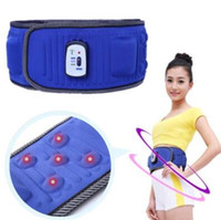 Wholesale abdominal belts - Abdominal Training X5 Slimming Belt Stimulator Device Super Slim Gym Belt Professional Body Massager Home Fitness Beauty Gear CCA9373 12pcs