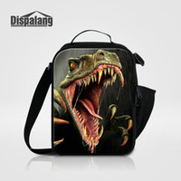 Wholesale Children Picnic Bag - Men Small Picnic Food Lunchbox Cool Animal Dinosaur Deer Lizard Printing Lunch Bag For Children Thermal Insulated Cooler Bags Meal Package
