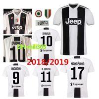 Wholesale Buffon Jerseys - 18 19 DYBALA soccer Jersey Juventusing shirt 2018 2019 juv HIGUAIN MANDZUKIC D. COSTA MARCHISIO da calcio BUFFON Home football shirt uniform