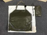 fábrica de bolsos al por mayor-Factory outlet Fold Over Tote chain Shaggy Deer Bag 37 * 36cm