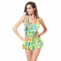 ingrosso swimwear giallo bikini-Costume da bagno sexy da donna Bikinis Push Up (giallo-G) - intl