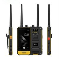 Wholesale Water Bits - Walkie Talkie Outdoor NOMU T18 IP68 Waterproof 4G Smartphone Android 7.0 MTK6737T Quad Core 3GB RAM 32GB ROM 8.0MP 5200mAh MobilePhone
