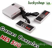 Wholesale camera console - Mini TV Game Console Video Handheld for NES Games Consoles With Retail Box Hot Sale