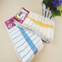 3030cm high quality kitchen cleaning set washing towel wiping rags sponge scouring pad microfiber dish cleaning cloth