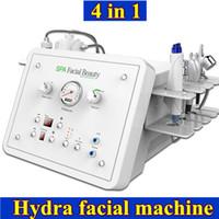Wholesale crystal peeling machine - MINI hydro dermabrasion machine crystal diamond machine oxygen jet peel bio lift facial machine exfoliating peeling skin