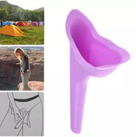 Wholesale Travel Female Urinals - Vogue Camping Travelling Female Lady She Can Wee Urine Urinal Director Funnel OPP bag Free Shipping