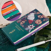 Wholesale mini cute note book - Kawaii Cute A6 Notebook PU Printing Mini Personal Planner Travel Diary Journal Diary Note Book Creative Composition Notepad Gift